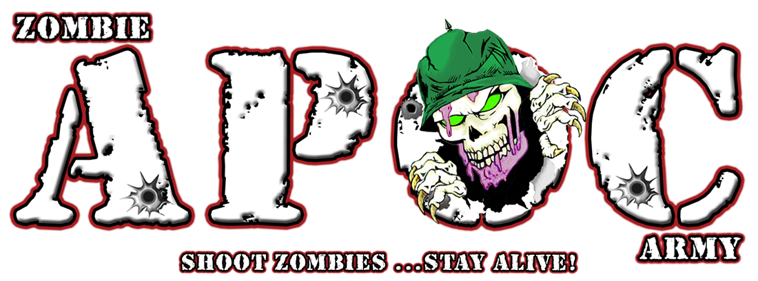 Zombie Apoc Army at the Cutting Edge Haunted House