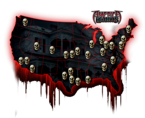 THE MOST SUCCESSFUL HAUNTED ATTRACTIONS IN AMERICA BY STATE
